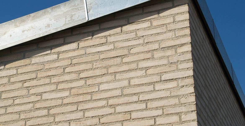 Облицовочный кирпич ручной формовки Randers Tegl RT 102 weiss lucca handstrichziegel