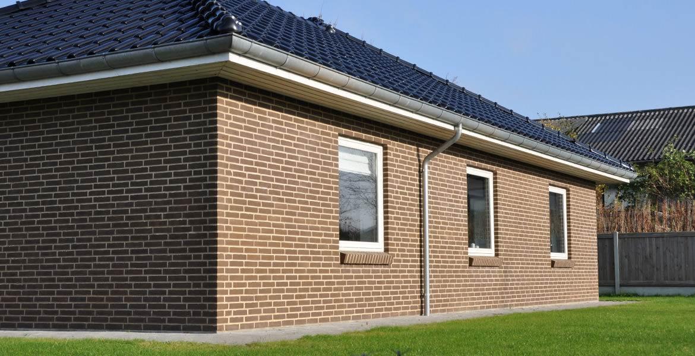 Облицовочный кирпич ручной формовки Randers Tegl RT 417 braun handstrichziegel
