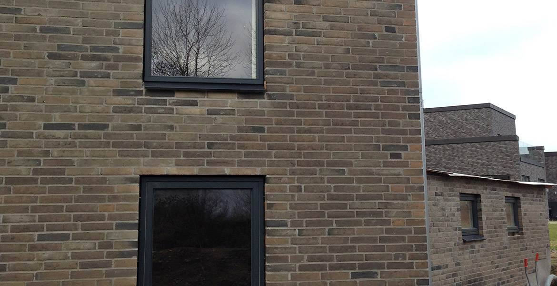 Облицовочный кирпич ручной формовки Randers Tegl RT 517 graugedämpft handstrichziegel