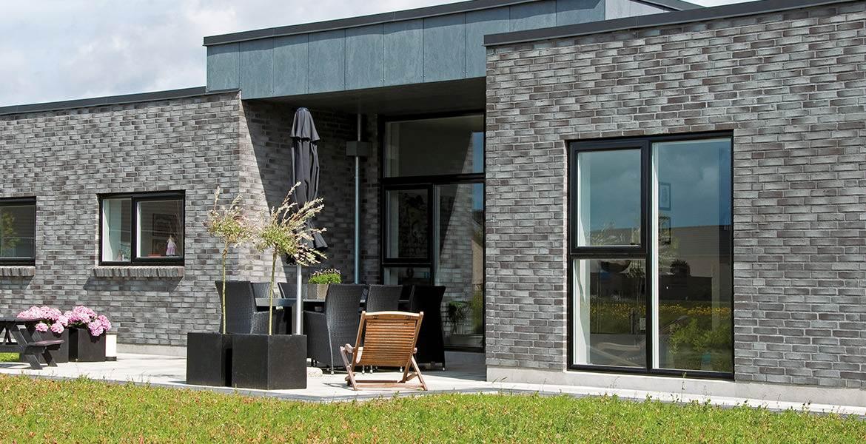 Облицовочный кирпич ручной формовки Randers Tegl RT 522 Alexandria handstrichziegel