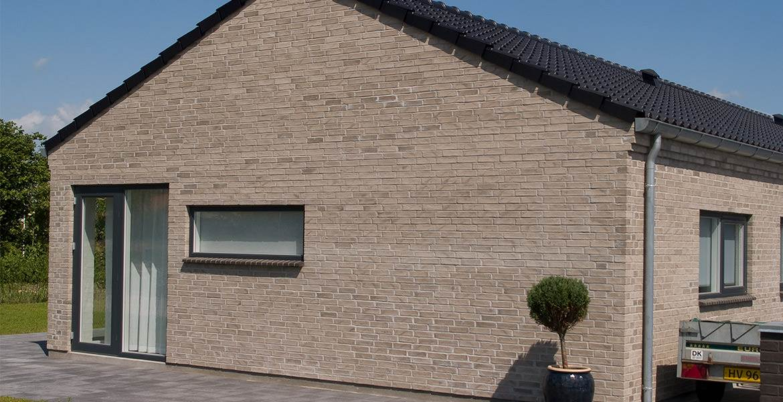 Облицовочный кирпич ручной формовки Randers Tegl RT 540 Pantheon handstrichziegel