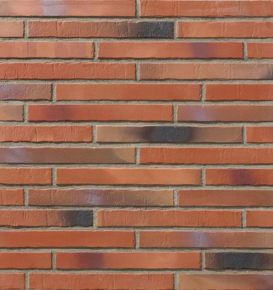Клинкерная фасадная плитка под кирпич Stroher Glanzstueck N2