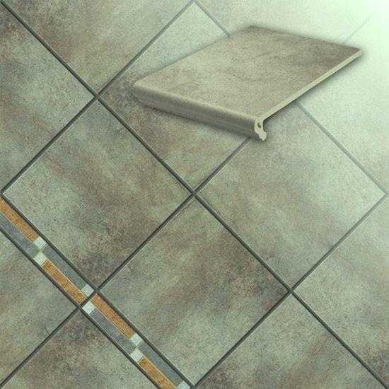 Клинкерная напольная плитка Stroeher Aera 711 onda, 294*294*10 мм