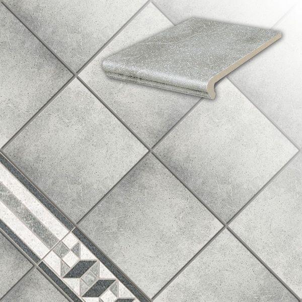 Клинкерная напольная плитка Stroeher Roccia 837 marmos, 294*294*10 мм