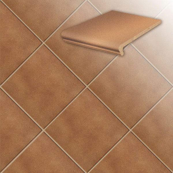Клинкерная напольная плитка Stroeher Duro 804 bossa, 240*240*12 мм