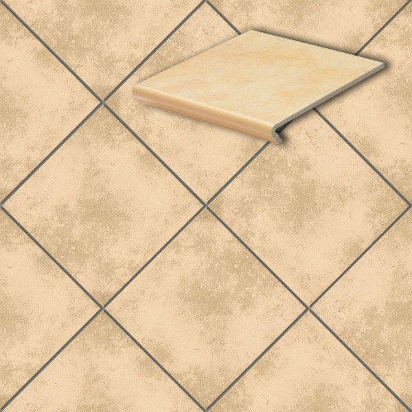Клинкерная напольная плитка Stroeher Cavar 541-facello, 294*294*8 мм
