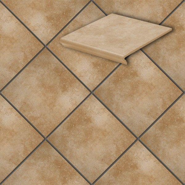 Клинкерная напольная плитка Stroeher Cavar 542-passione , 294*294*8 мм