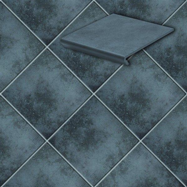 Клинкерная напольная плитка Stroeher Cavar 543-fosco , 294*294*8 мм