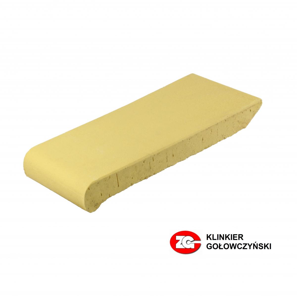 Клинкерные водоотлив для оформления окон ZG-Klinker желтый