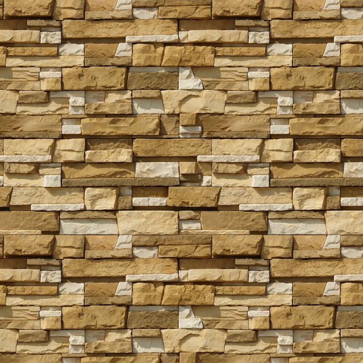 Облицовочный декоративный камень Уайт Клиффс 150-20