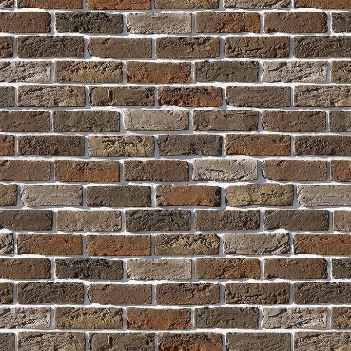 Облицовочный камень под кирпич ручной формовки Бремен Брик 309-60