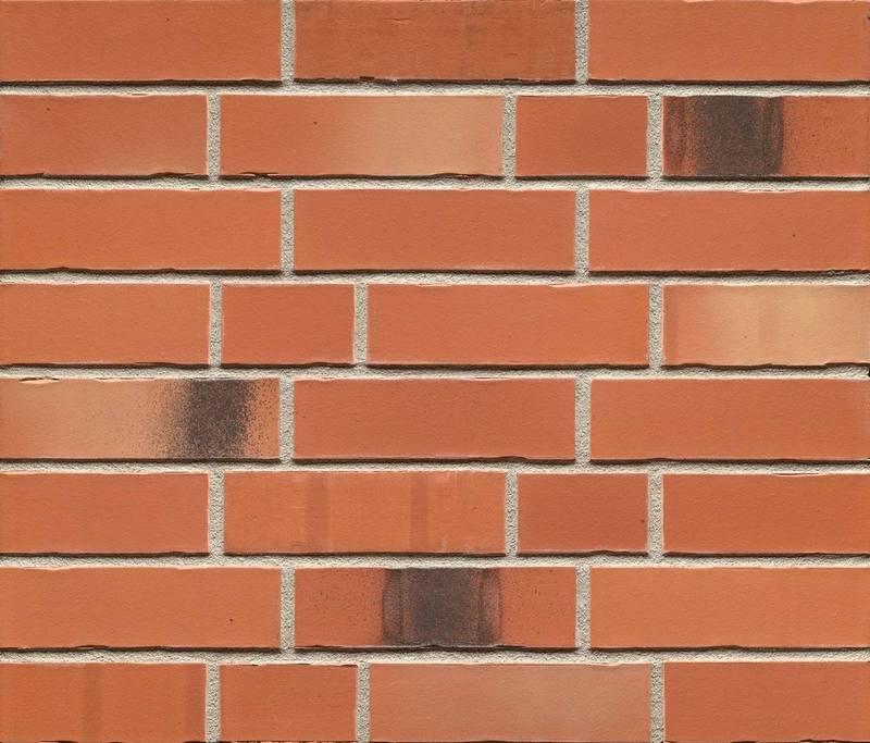 Клинкерная фасадная плитка Feldhaus Klinker R985 NF14 bacco terracotta matiz