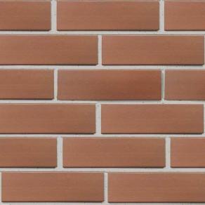 Клинкерная фасадная плитка Экоклинкер Бордо, гладкая