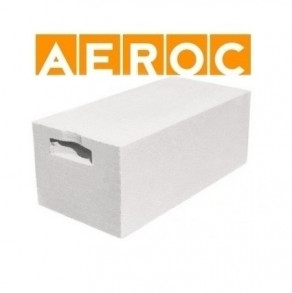 Газобетонные блоки AEROC Clasic (D500) 300*250*625 мм