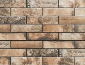 Клинкерная фасадная плитка под кирпич Piatto Terra 300*74*9 мм