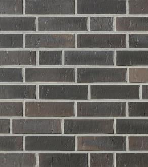 Клинкерная фасадная плитка под кирпич Roben Chelsea basalt-bunt, 240*14*71 мм