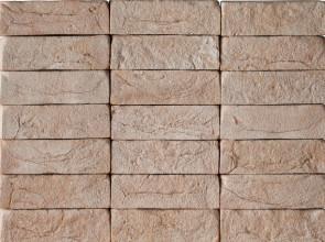 Облицовочный кирпич ручной формовки Безос 1/2 WDF, 210x50x65