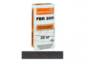 """Затирка для широких швов quick-mix """"Фугенбрайт"""" FBR 300 антрацит, 25 кг"""