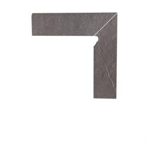 Цоколь структурный правый/левый Paradyz Taurus Grys, 300*81*11 мм