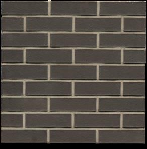 Клинкерный облицовочный кирпич Muhr L05 Eisenschmelz Schwarzbraun WF, 210*100*50