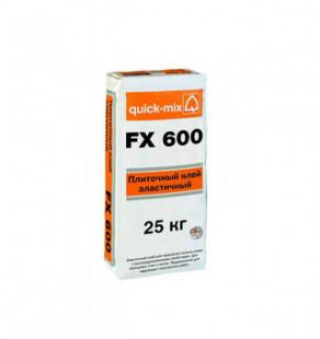 Плиточный эластичный клей FX 600, 25 кг