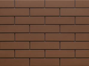 Клинкерная фасадная плитка под кирпич Brown 240*65*6.5 мм