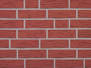 Клинкерный облицовочный кирпич Roben Melbourne rot nature NF genarbt, 240x115x71