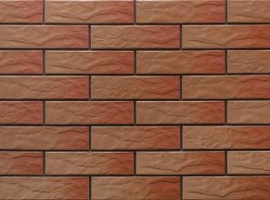 Клинкерная фасадная плитка под кирпич Kalahari Rustic 240*65*6.5 мм