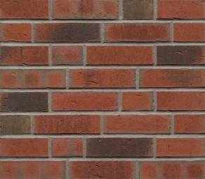 Клинкерная фасадная плитка Feldhaus Klinker R752 Vascu ardor carbo NF14, 240*14*71 мм