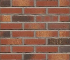 Клинкерная фасадная плитка Feldhaus Klinker R744 Vascu carmesi legoro NF14, 240*14*71 мм