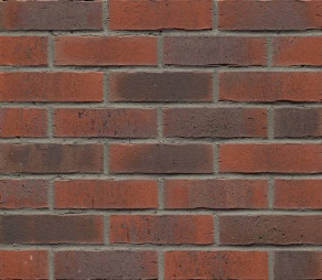 Клинкерная фасадная плитка Feldhaus Klinker R743 Vascu carmesi flores NF14, 240*14*71 мм