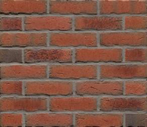 Клинкерная фасадная плитка Feldhaus Klinker R698 Sintra terracotta bario NF14, 240*14*71 мм