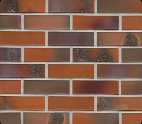 Клинкерная фасадная плитка Feldhaus Klinker R582 Salina terreno bluastro