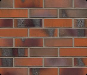 Клинкерная фасадная плитка Feldhaus Klinker R562 Carbona terreno bluastro