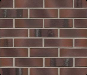 Клинкерная фасадная плитка Feldhaus Klinker R561 Carbona carmesi maritimo