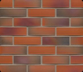 Клинкерная фасадная плитка Feldhaus Klinker R489 Galena terreno rosato