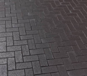 Тротуарная клинкерная брусчатка Feldhaus Klinker P609 SKF umbra ferrum