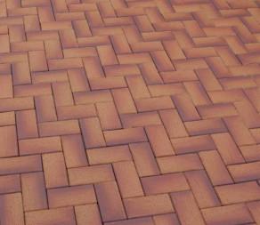 Тротуарная клинкерная брусчатка Feldhaus Klinker P249 KF areno ferrum