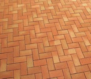Тротуарная клинкерная брусчатка Feldhaus Klinker P241 KDF areno mandari