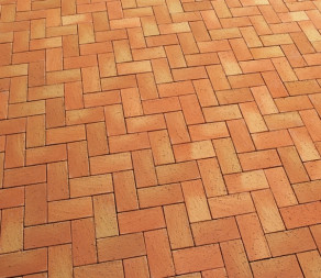 Тротуарная клинкерная брусчатка Feldhaus Klinker P241 DF areno mandari