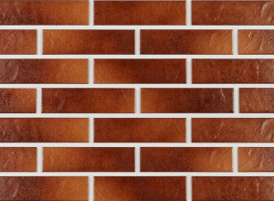 Клинкерная фасадная плитка под кирпич Paradyz Taurus Brown