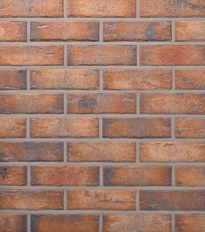 Клинкерная фасадная плитка под кирпич Roben MANUS Java carbon, 240*14*71 мм
