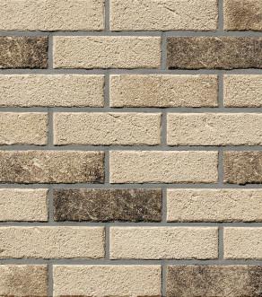Клинкерная фасадная плитка под кирпич Roben MANUS Salina carbon, 240*14*71 мм