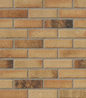 Клинкерная фасадная плитка под кирпич Roben MANUS Tonga carbon, 240*14*71 мм