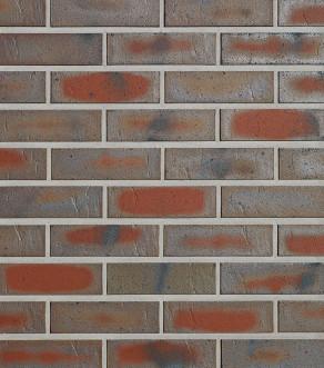Клинкерная фасадная плитка под кирпич Roben ODENWALD schmelz-bunt, 240*14*71 мм