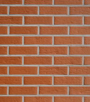 Клинкерная фасадная плитка под кирпич Roben Rhön ziegelrot genarbt, 240*14*71 мм