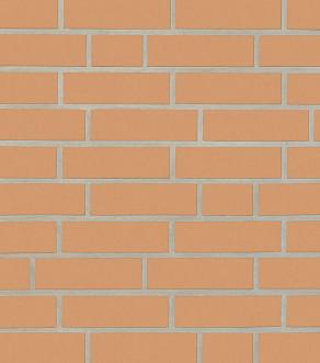 Клинкерная фасадная плитка под кирпич Roben Sorrento gelb-orange glatt NF, 240*14*71 мм
