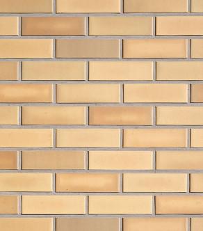 Клинкерная фасадная плитка под кирпич Roben Rimini gelb-bunt glatt, 240*14*71 мм