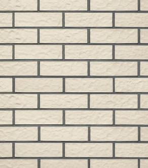 Клинкерная фасадная плитка под кирпич Roben Montblanc perlweiß, 240*14*71 мм