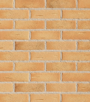 Клинкерная фасадная плитка под кирпич Roben Aarhus Gelb-carbon , 240*14*71 мм